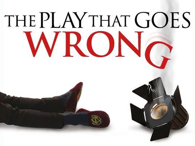The Play That Goes Wrong arrives in Glasgow