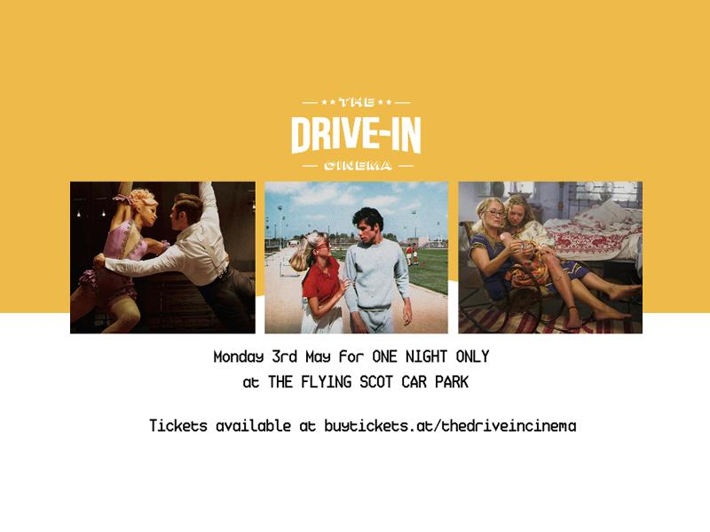 Lockdown is ending and The Drive In Cinema is returning!