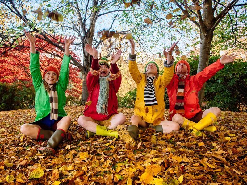 Indepen Dance is back out on the road with the award winning show, Four Go Wild in Wellies