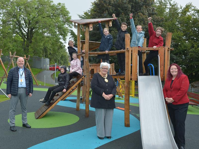 New play park for Banton