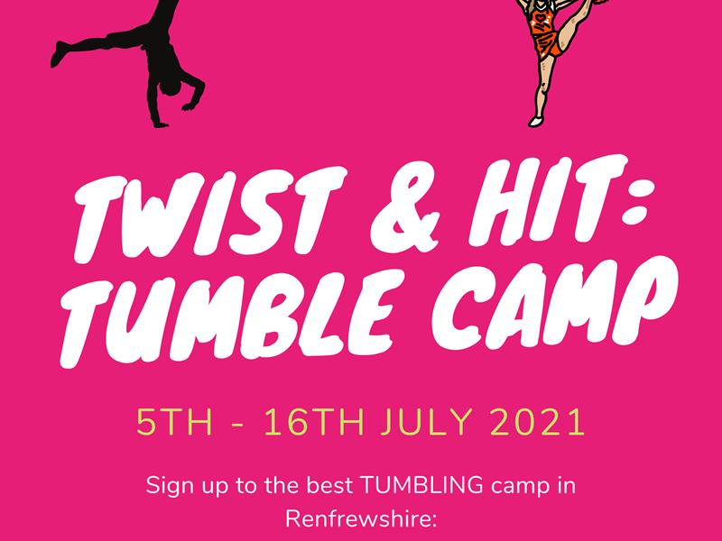 Twist & Hit: Summer Tumbling Camps