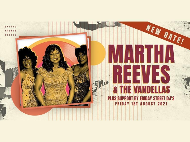 Martha Reeves & The Vandellas - CANCELLED