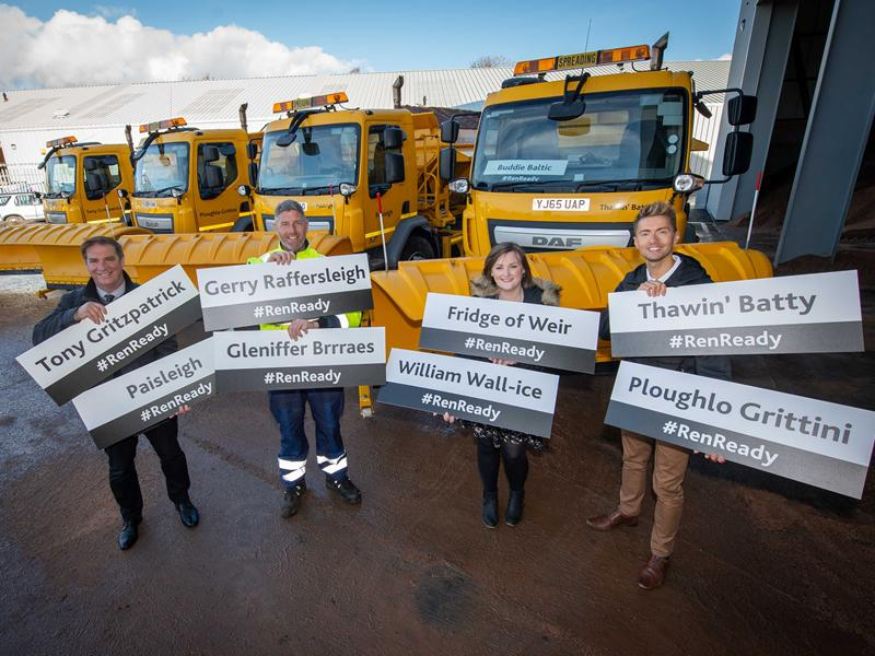 Ploughlo Grittini, Thawin Batty and Tony Gritzpatrick set to keep local roads clear this winter