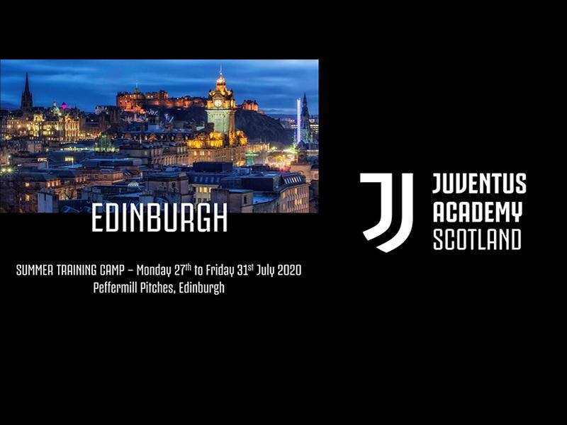 Juventus Academy Scotland Edinburgh Summer Camp