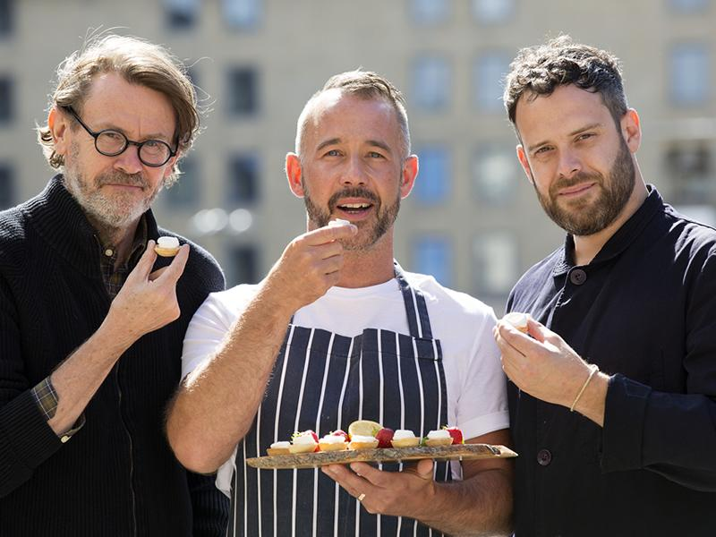 Private events chef Barry Bryson launches home delivery service