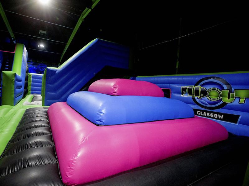 Glasgow trampoline park celebrates Eid