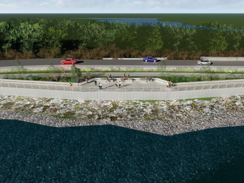 Stunning reservoir promenade proposal for East Renfrewshire