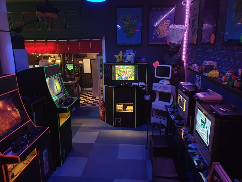 R-CADE Retro Gaming Sessions