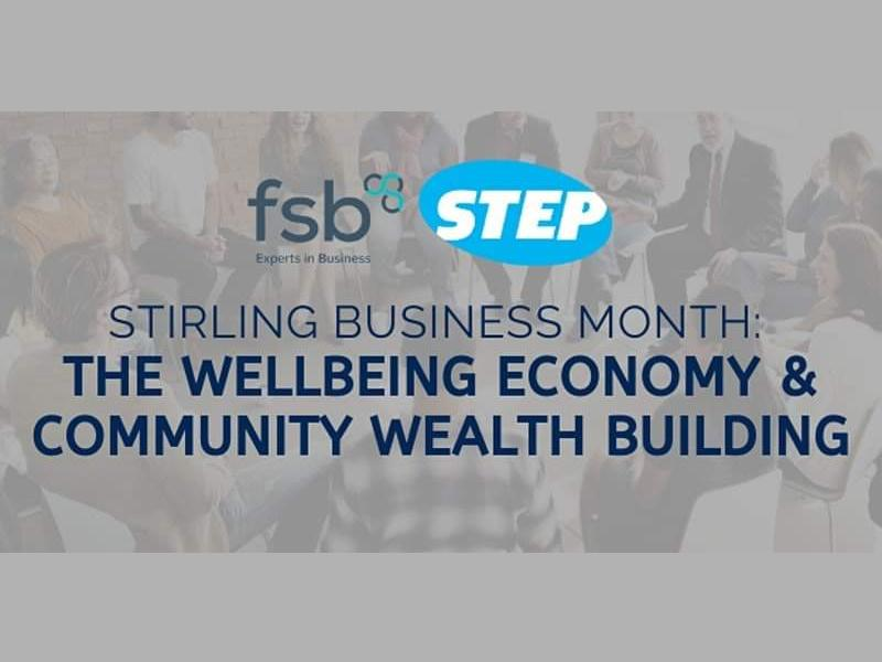 Stirling Business Month: The Wellbeing Economy & Community Wealth Building