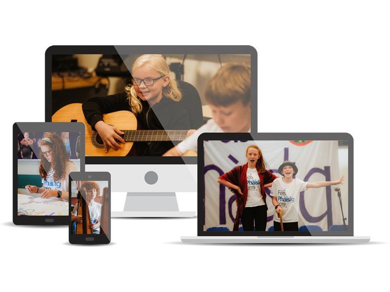 Fèis Air Loidhne - Fèis Online 2020