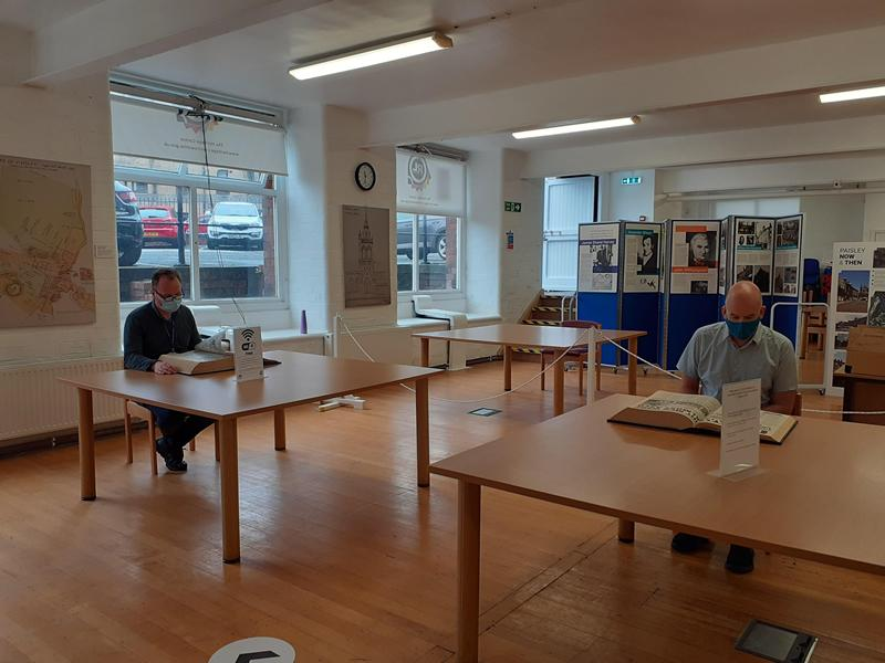 Renfrewshire Heritage Centre to reopen as part of Covid 19 recovery