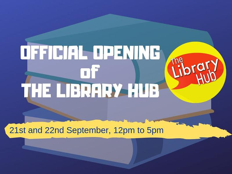Official Opening of new Multilingual Lending Library