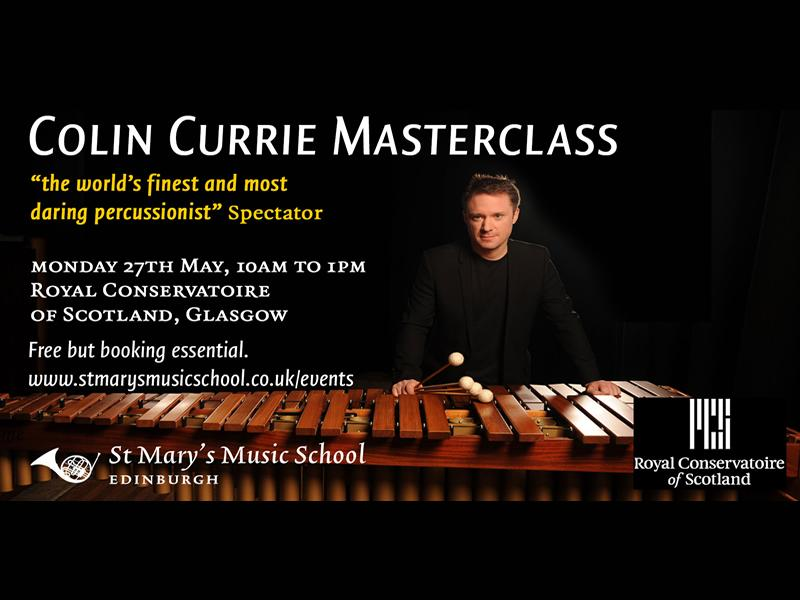 Colin Currie Free Percussion Masterclass