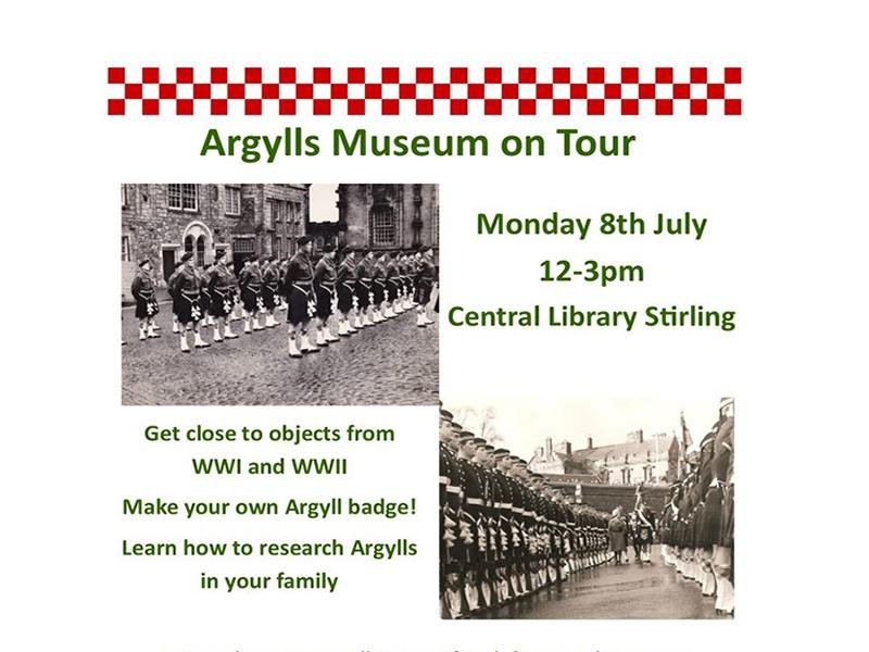 Argylls Museum on Tour at Stirling Library
