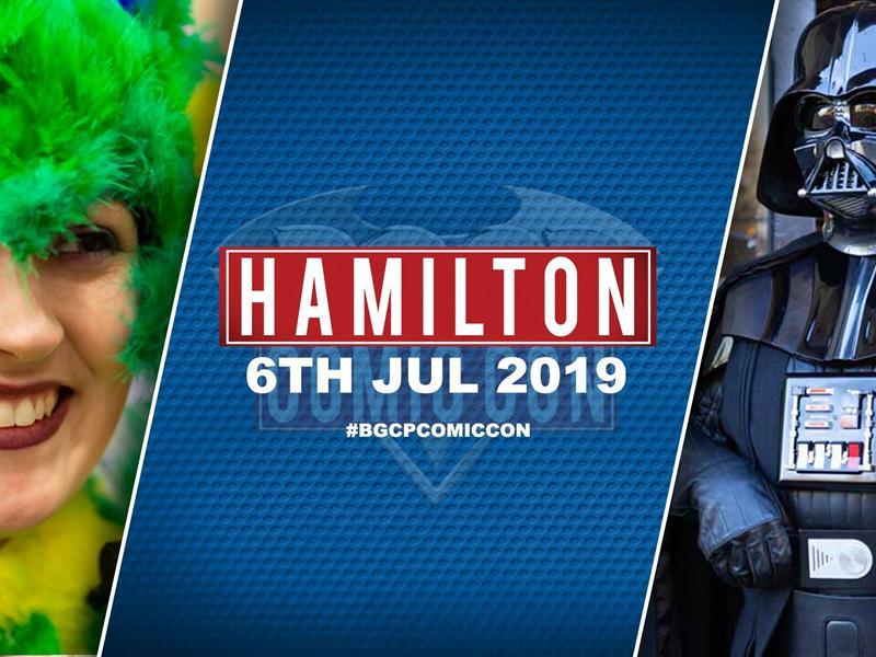Hamilton Comic Con