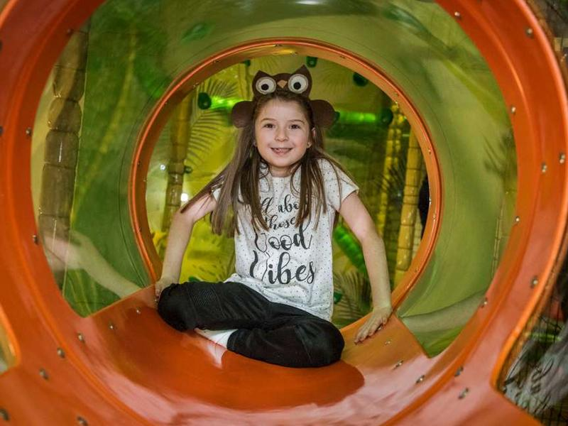 Soft play is back in action at Edinburgh Leisure
