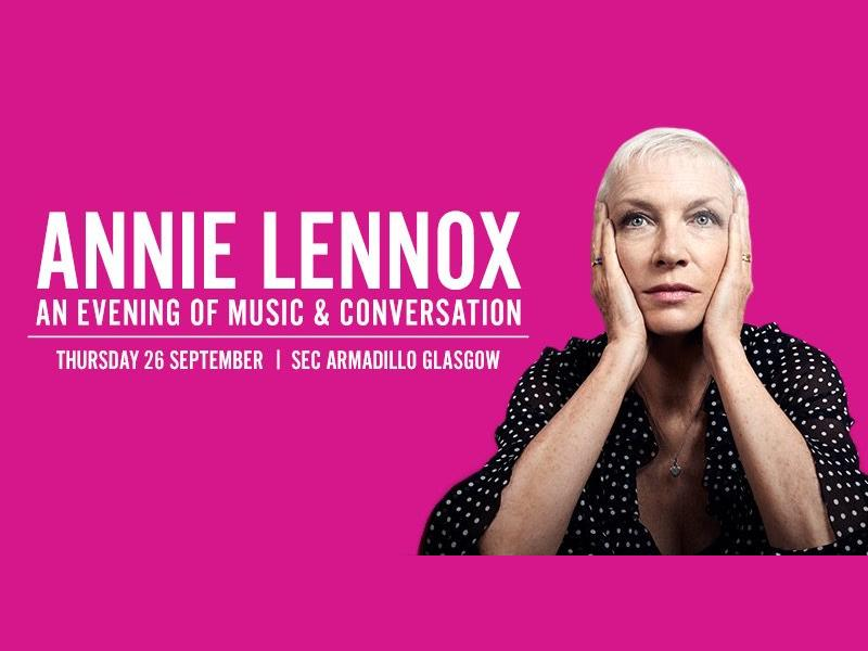 Annie Lennox - An Evening of Music and Conversation