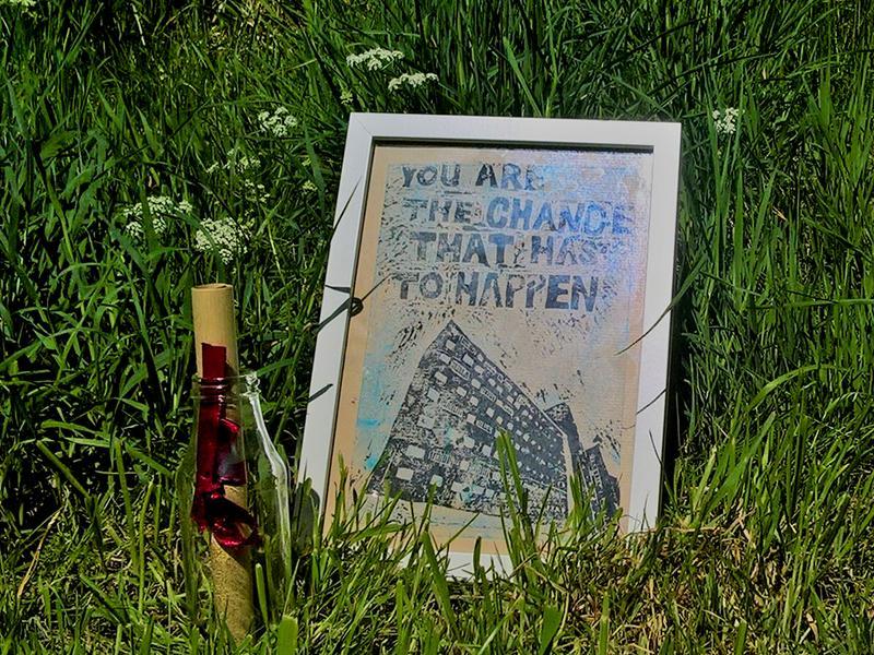 Art Hunt - You R The Change That Has To Happen - Marta Adamowicz
