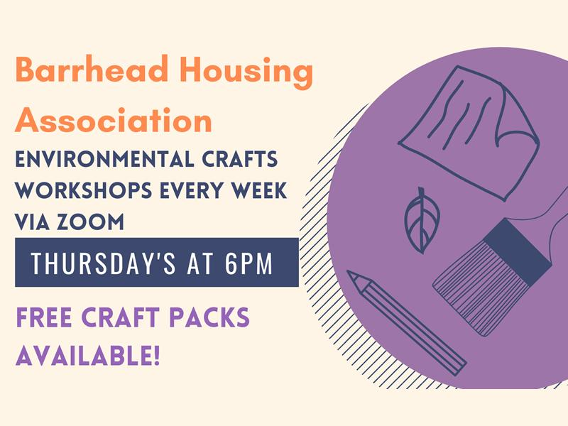 Barrhead Housing Eco Crafting Sessions