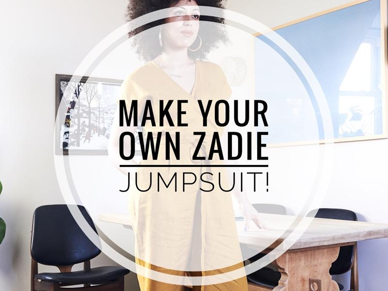 Make Your Own Zadie Jumpsuit With Sew Confident LIVE!