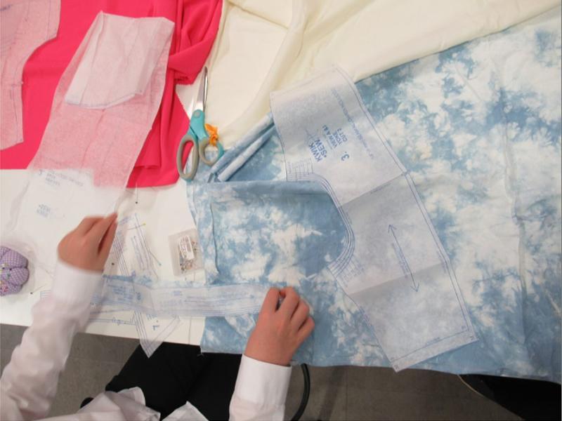Recycle or Dye: Shirt Making
