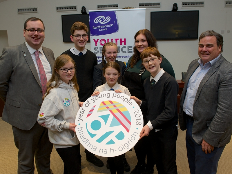 Year of Young People ambassadors help shape the once in a life time year ahead