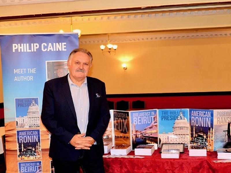 Paisley & District U3A Talks: Crime Writer Philip Caine