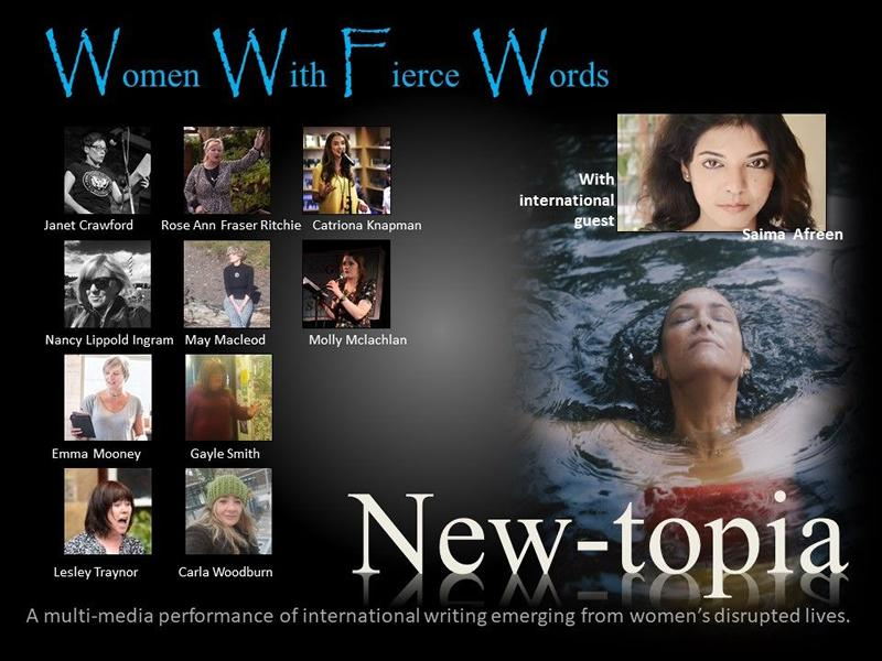 Newtopia: Women with Fierce Words