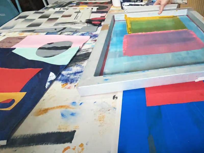 Beginner's Lampshade Printing Workshop