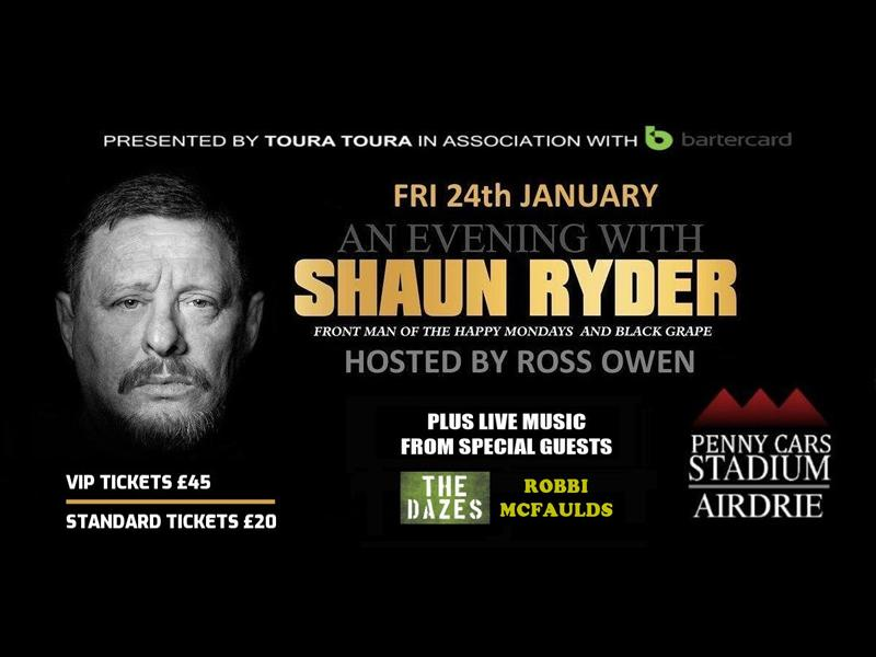An Evening With Happy Mondays and Black Grape Frontman Shaun Ryder