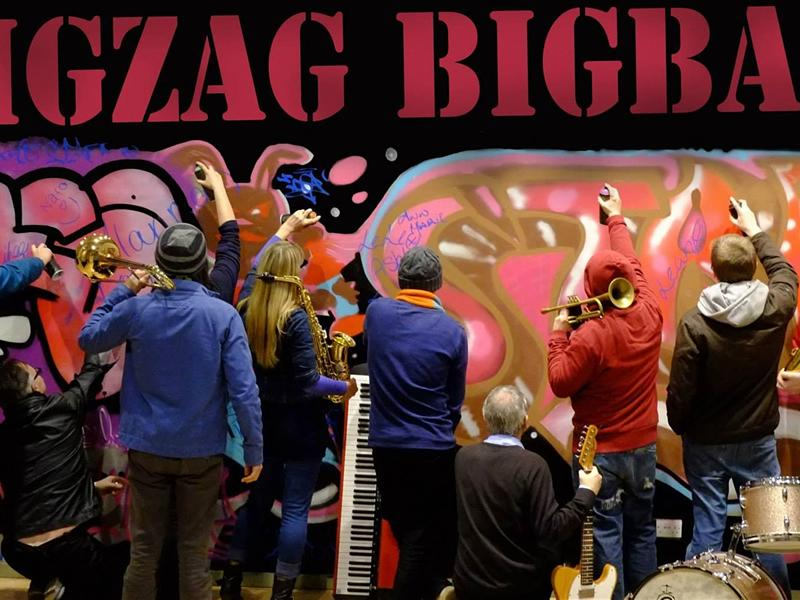 Saturday Afternoon Sessions: ZIG ZAG Big Band - CANCELLED