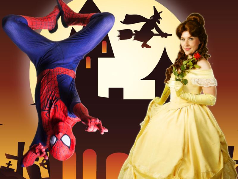 Spidey & Belle Zoom Party