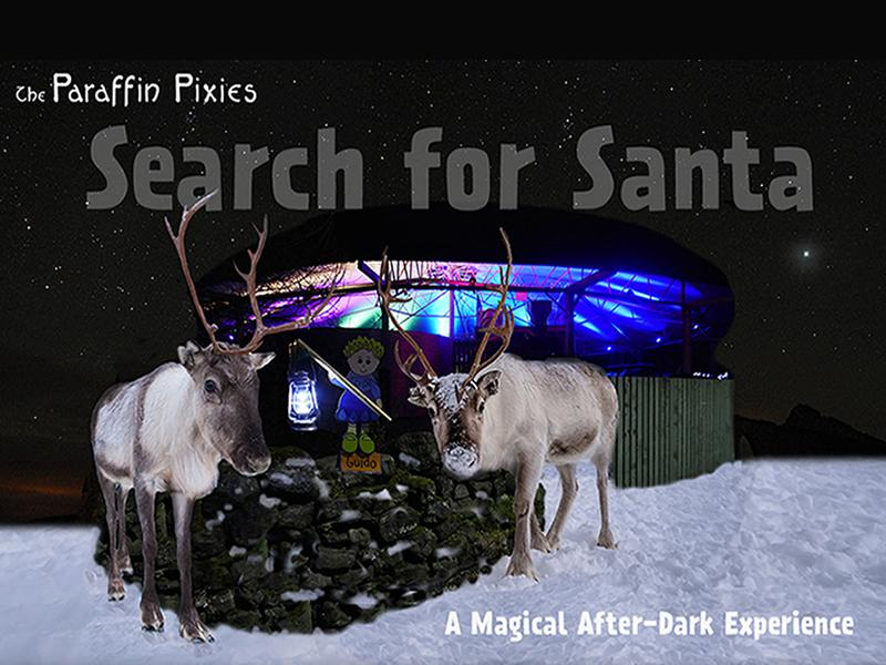 The Paraffin Pixies Search for Santa