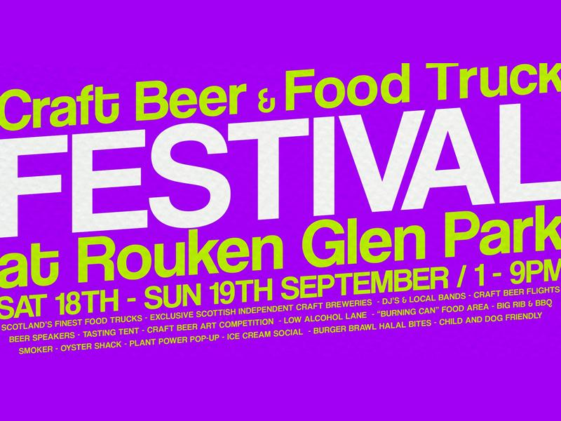 Rouken Glen Food Truck & Craft Beer Festival