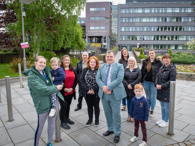 Hundreds of people have their say as Our Renfrewshire survey deadline approaches