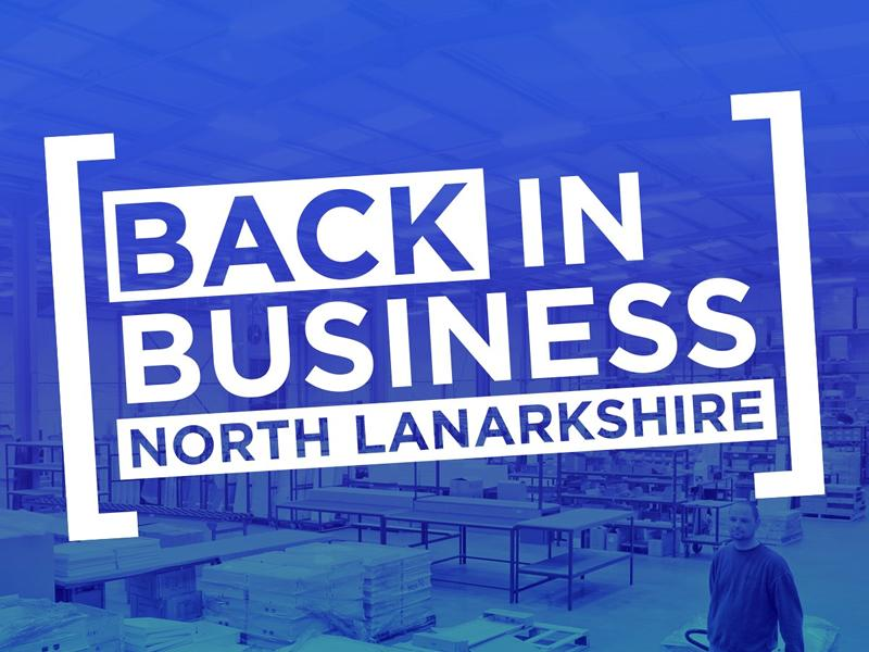 Helping North Lanarkshire back to business