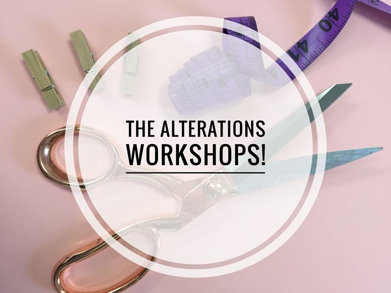 The Alterations Workshops - CANCELLED