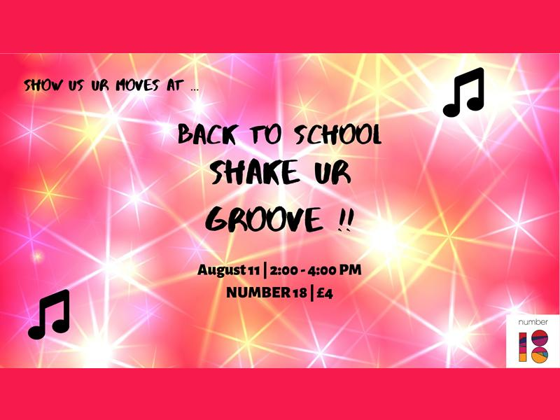 Shake 'UR' Grove - Back to School Special