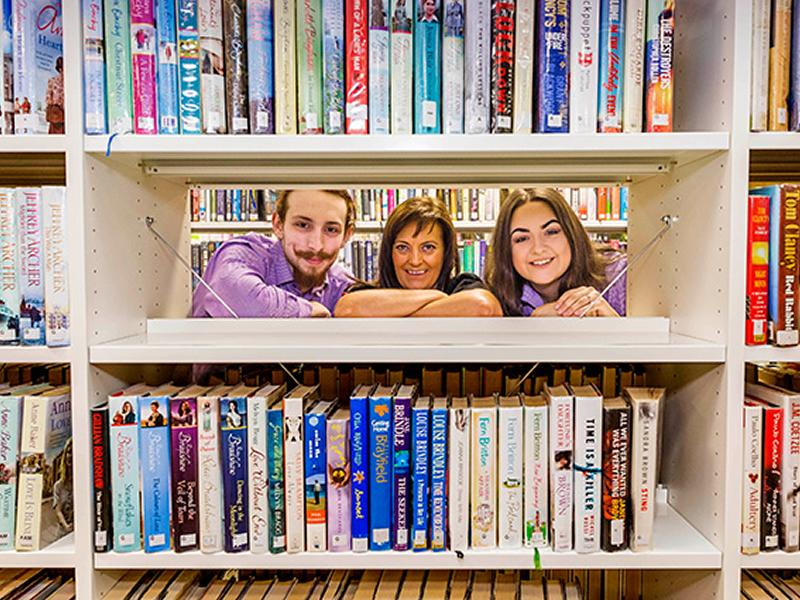 Connect and collect from 12 libraries across South Lanarkshire
