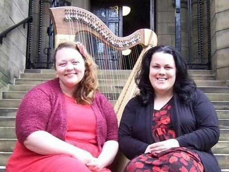 Kirsty and Heather in Concert - Voice and Harp