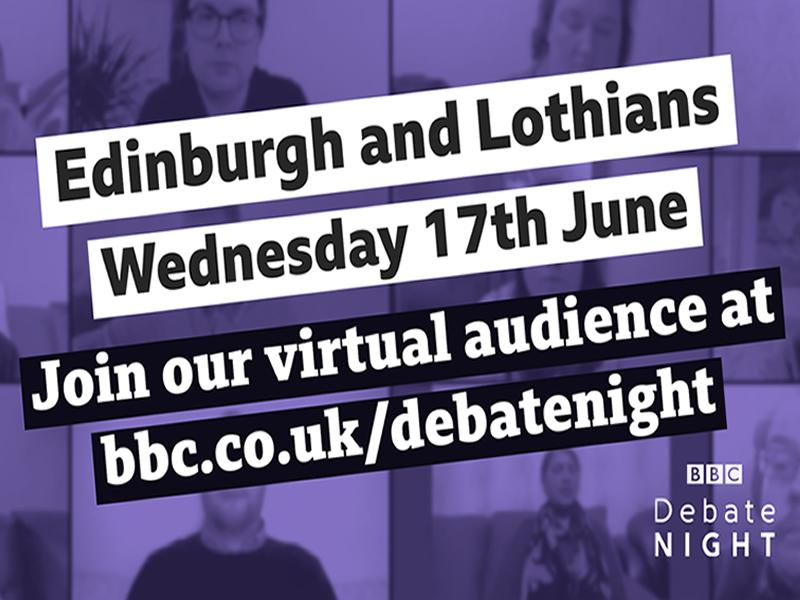 BBC Debate Night is to Edinburgh and the Lothians