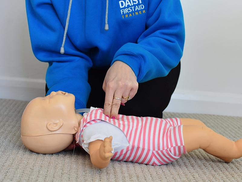 Daisy First Aid - 1hr Baby Basics First Aid Course