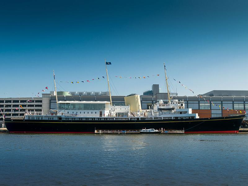 Spend October Holidays aboard The Royal Yacht Britannia