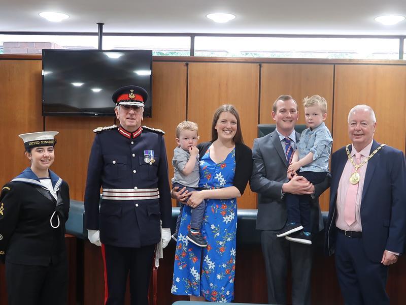 Eaglesham teacher recognised with British Empire Medal