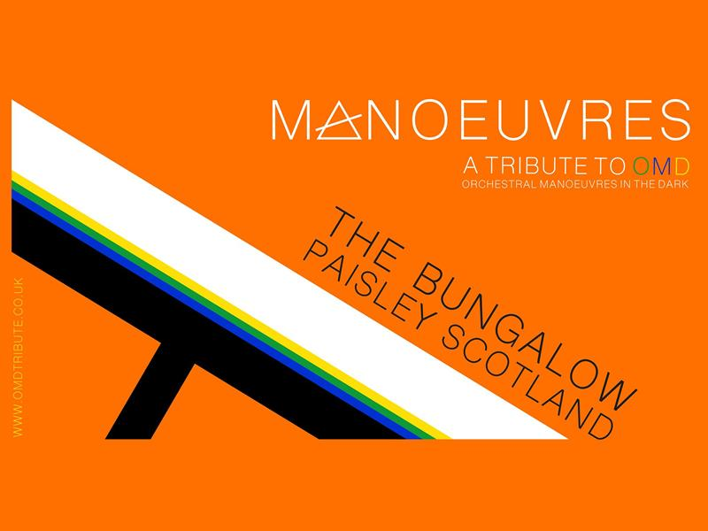 NNE Presents Manoeuvres - A Tribute To OMD