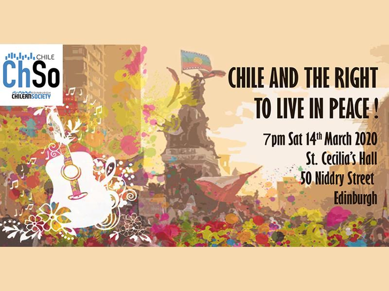 Chile and the Right to Live in Peace - CANCELLED