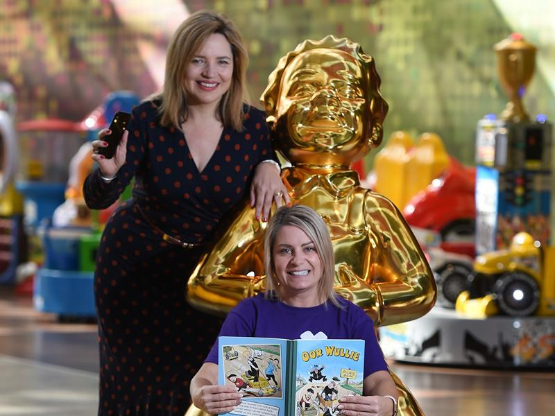St. Enoch Centre welcomes Oor Wullie for 30th Birthday celebrations