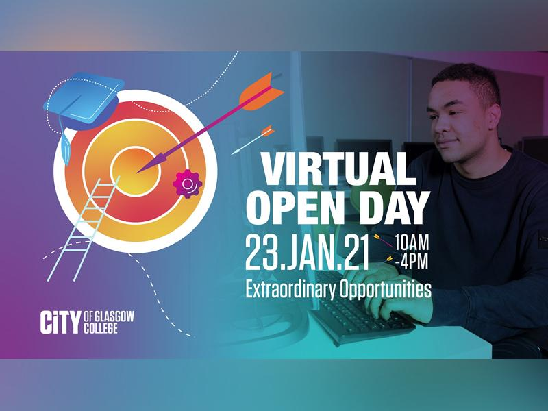City of Glasgow College - Virtual Open Day
