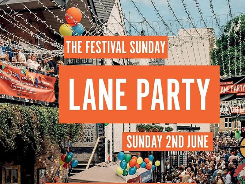 The Festival Sunday Lane Party