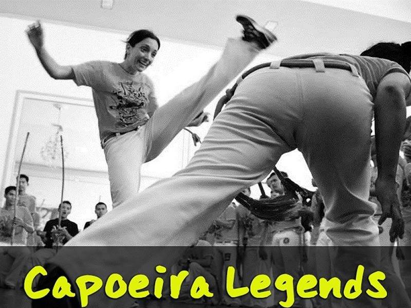 Capoeira Legends with Lara and Andres